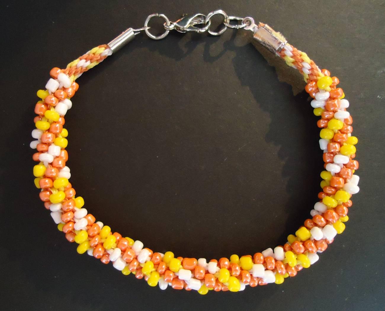 Kumihimo braided bracelet (3 colors)